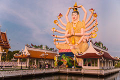 Koh Samui temple on the water - Thailand. Koh Samui  - temple on the water - Thailand Stock Images