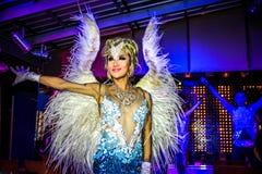 KOH SAMUI, THAÏLANDE 2013, 2 APRIL Transvestites dedans Image libre de droits