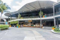 KOH SAMUI, THAÏLANDE - 15 décembre 2017 : FoodPark dans CentralFestival Samui Images libres de droits