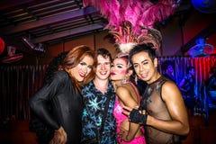 KOH SAMUI, THAILAND 2013, 2 APRIL Transvestites in Stock Images