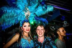 KOH SAMUI, THAILAND 2013, 2 APRIL Transvestites in Royalty Free Stock Images