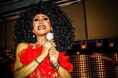 KOH SAMUI, THAILAND 2013, 2 APRIL Transvestites in Royalty Free Stock Photography