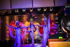 KOH SAMUI, THAILAND 2013, 2 APRIL Transvestites in Royalty Free Stock Photos