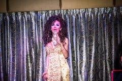 KOH SAMUI, THAILAND 2013, 2 APRIL Transvestites Royalty Free Stock Image