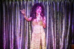 KOH SAMUI, THAILAND 2013, 2 APRIL Transvestites Stock Photo