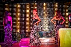 KOH SAMUI, THAILAND 2013, 2 APRIL Transvestites in Stock Photography