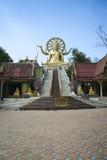 Big buddha temple koh samui thailand Royalty Free Stock Photography