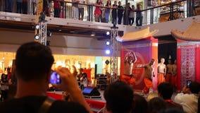KOH SAMUI, THAILAND - FEBRUARY 11: Audience stock footage