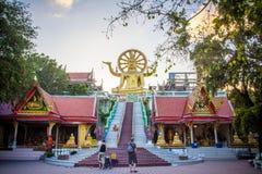 Koh Samui. Thailand. 26 february 2014. big buddha Stock Images