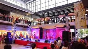 KOH SAMUI, THAILAND - FEBRUARY 11: Shaolin Kungfu stock video footage