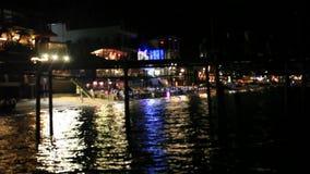 Koh Samui thailand 25 juli 2014 Restaurant met stock videobeelden