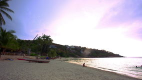 Koh Samui. Thailand. 20 july 2014. 4k Time lapse stock video footage