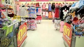 KOH SAMUI, THAILAND 19 JULY 2014. Sale of children stock video footage