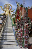 Koh Samui, Thailand, Large golden Buddha statue, Big Buddha Royalty Free Stock Images