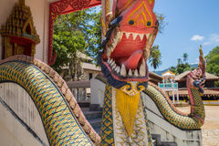Koh Samui - Thailand - temple royalty free stock image