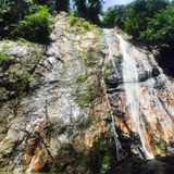 Koh Samui. Waterfall in Koh Samui Stock Photography