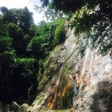 Koh Samui. Waterfall in Koh Ssmui Royalty Free Stock Image