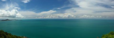 KOH Samui y el golfo de Tailandia Imagen de archivo libre de regalías