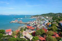 Koh Si Chang Island Arkivfoto