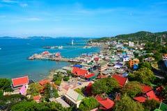 Koh Si Chang Island Royaltyfri Fotografi