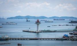 Koh Si Chang Pier Stock Fotografie