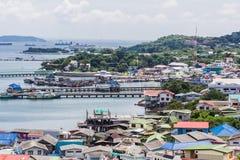 Koh Si Chang Pier Royalty-vrije Stock Afbeelding