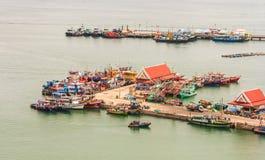 Koh Si Chang Pier Stock Afbeeldingen