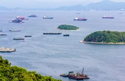 Koh Si Chang Pier Imagens de Stock Royalty Free