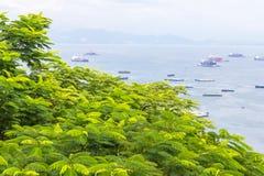 Koh Si Chang Pier Foto de Stock