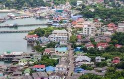 Koh Si Chang Pier Fotos de Stock Royalty Free