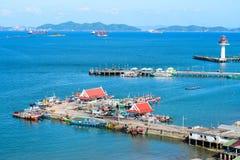 Koh Si Chang wyspa Zdjęcia Royalty Free