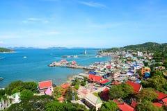 Koh Si Chang wyspa w Chonburi Zdjęcia Royalty Free