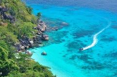 Koh si, Similan Tailândia Fotos de Stock