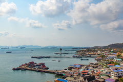 Koh Sichang del distretto di Siracha Immagine Stock