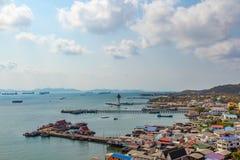Koh Sichang do distrito de Siracha Imagem de Stock