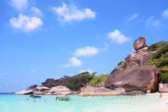 Koh Similan, isola di Similan Fotografia Stock Libera da Diritti