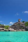 Koh Similan, isola di Similan Fotografie Stock Libere da Diritti
