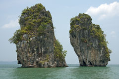 Koh Sup, Phang Nga Bay Royalty Free Stock Images