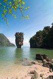 Koh Tabu, or James Bond Island Royalty Free Stock Photo