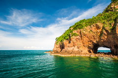 Koh talu island, Prachuap Khiri Khan, Royalty Free Stock Image