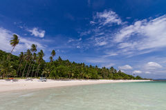 Koh Talu is a private island in the Gulf of Thailand Royalty Free Stock Photo