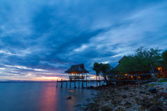 Koh Talu is a private island in the Gulf of Thailand Stock Photo