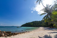 Koh Talu is a private island in the Gulf of Thailand Stock Photos