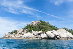 KOH Tao en Thaïlande Photo stock