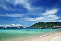 Koh Tao-Insel, Thailand lizenzfreie stockfotografie