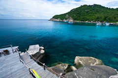 Koh Tao island. Southern of Thailand Royalty Free Stock Photo
