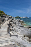 Koh Tao island, Kingdom of Thailand Royalty Free Stock Images