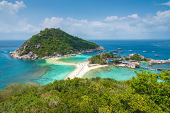 Koh tao island. Suratthani thailand, in beautiful sunshine day Royalty Free Stock Image
