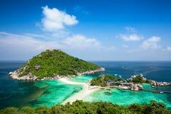 Koh Tao Island in Thailand Lizenzfreie Stockfotos