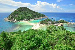 Koh Tao a paradise island in Thailand. Stock Photography